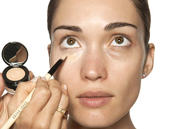 Concealer application