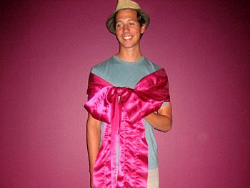Hip-flattering dress