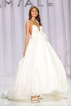 A playful wedding dress