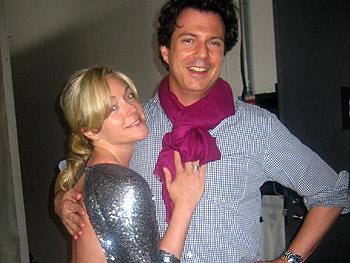 Jane Krakowski and Adam Glassman
