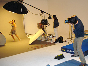 Vanessa Williams in fashion shoot