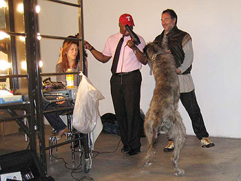 Kate Walsh, Ted Gibson and Fabrizio Ferri