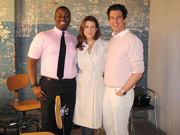 Ted Gibson, Kate Walsh and Adam Glassman