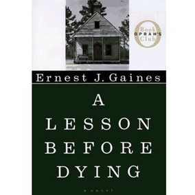 an analysis of a lesson before dying a novel by ernest j gaines The reader is given a unique outlook on the status of african americans in the   this is a study guide for the book a lesson before dying written by ernest j  gaines  please click on the literary analysis category you wish to be displayed.