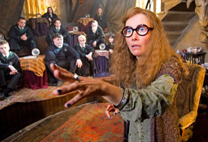 Emma Thompson in Harry Potter
