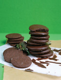 Chocolate-Covered Chocolate-Mint Cookies