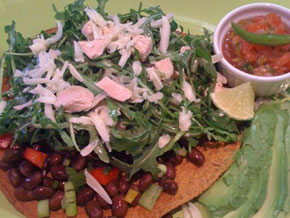 Turkey Tostada
