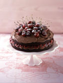 Chocolate Cherry Bliss Cake