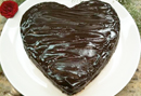 Cristina Ferrare's chocolate cake