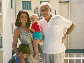 Debora Spar and family