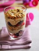 Aine McAteer's Crunchy Berry Yogurt Parfait