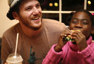 Spike Mendelsohn and child