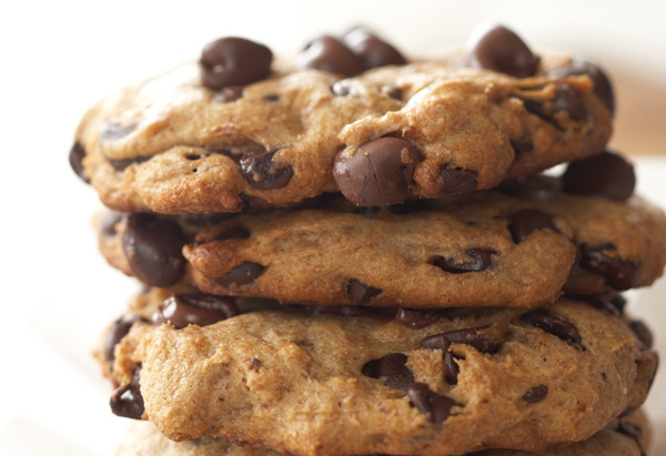 Rocco DiSpirito's Triple Chocolate Chip Cookies