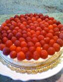 Arianna's Cheesecake with Fresh Berries