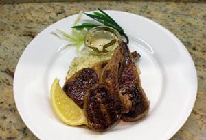 Cristina Ferrare's Grilled Lamb Chops