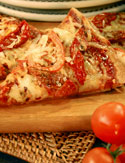 Dave Lieberman's Whole Wheat Triple-Tomato Pizza