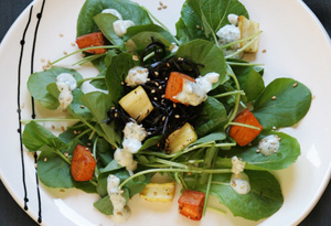 Aine McAteer's Sweet Potato and Arame Salad with Asian-Style Tartar Sauce