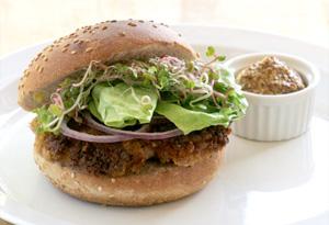 Aine McAteer's Sizzling Seitan Burgers
