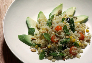 Aine McAteer's Quinoa and Summer Veggie Salad