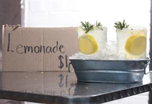 Honey-Rosemary Lemonade