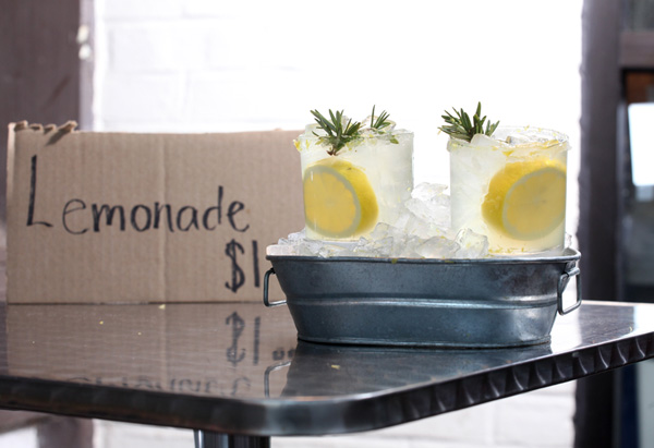 Honey-Rosemary Lemonade recipe