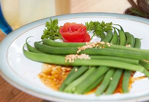 Aine McAteer's Sesame-Ginger Green Beans