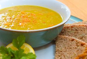 Aine McAteer's Golden Lemon Lentil Soup