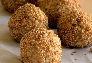 Aine McAteer's Savory Stuffed Rice Balls