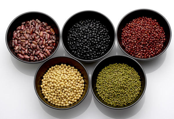 Assortment of dried beans