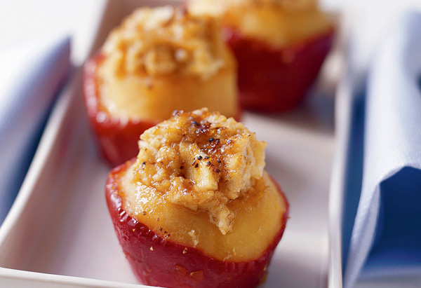 Baked Apples with Oatmeal and Brown Sugar brunch recipe