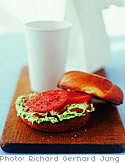 Bagels with Bacon-Chive Cream Cheese