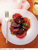 Beets, Blood Orange and Mint Salad