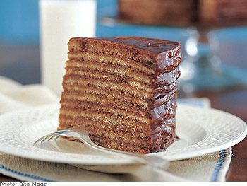 12-Layer Chocolate Cake