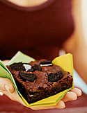 Outrageous Oreo Crunch Brownies