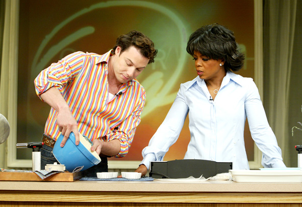 Oprah and Rocco DiSpirito
