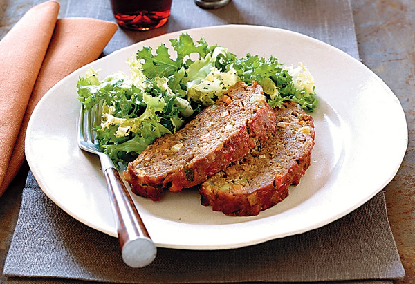 Cardamom-Spiced Meatloaf
