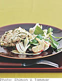 Salt-Crusted Snapper with Lemon-Oregano Vinaigrette