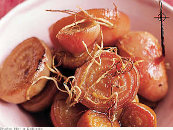 Roasted Beets with Ginger