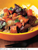 Tagine with Lamb and Couscous