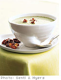 Broccoli and Roasted-Walnut Soup
