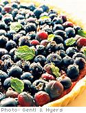 Pumpkin and Blueberry Tart