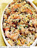 """Laura Pensiero's Shrimp and White Bean """"Cassoulet"""""""