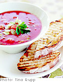 Gazpacho with Grilled Bread