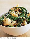 Turnips and Broccoli Rabe with Parsley