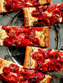 Tomato and Three-Cheese Tart