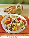 Grilled Vegetables with Lemon and Herbs