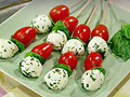 Rachael Ray's Caprese on a Stick