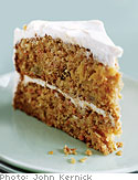 Carrot Cake with Soy Cream Cheese Frosting