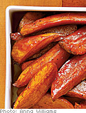 Molasses-Roasted Sweet Potatoes