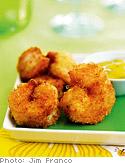 Coconut Shrimp with Mango-Mojo Dip